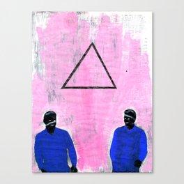Trekant Canvas Print