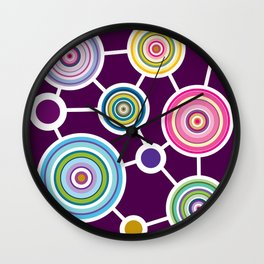 ROUND CONECTION Wall Clock