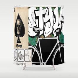 gameboard Shower Curtain