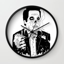 Dead Famous - Cash Wall Clock