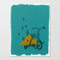 confidant I. (tricycle) Canvas Print