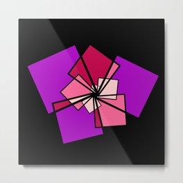 moving squares -15a- Metal Print