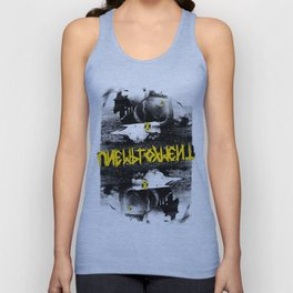 Unemployment - Dead Friends (Record Release Design#1) Unisex Tank Top