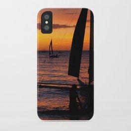 Borocay Sunset Philippines iPhone Case