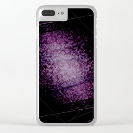 Dark nigh-t #4 Clear iPhone Case