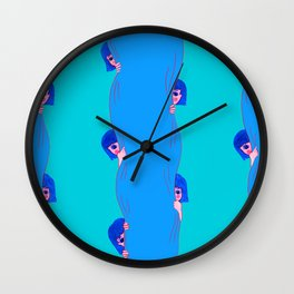Feeling Shy Wall Clock