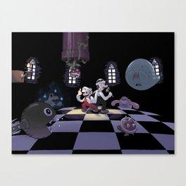 Super Mario Bros. 3 Castle Canvas Print
