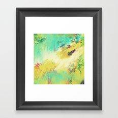 theGATHERINGsquare Framed Art Print