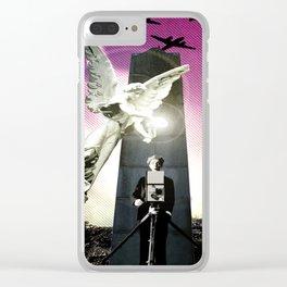 Magic of Film Clear iPhone Case