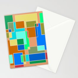 Abstract #927 Stationery Cards