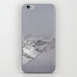 Snow is whiter on the other side iPhone Skin