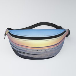 Sun Sets up the River, Across the Sea Fanny Pack
