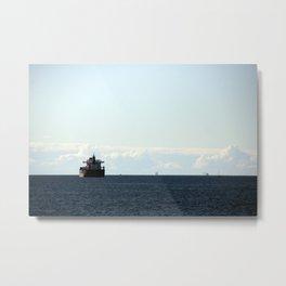leaving port Metal Print