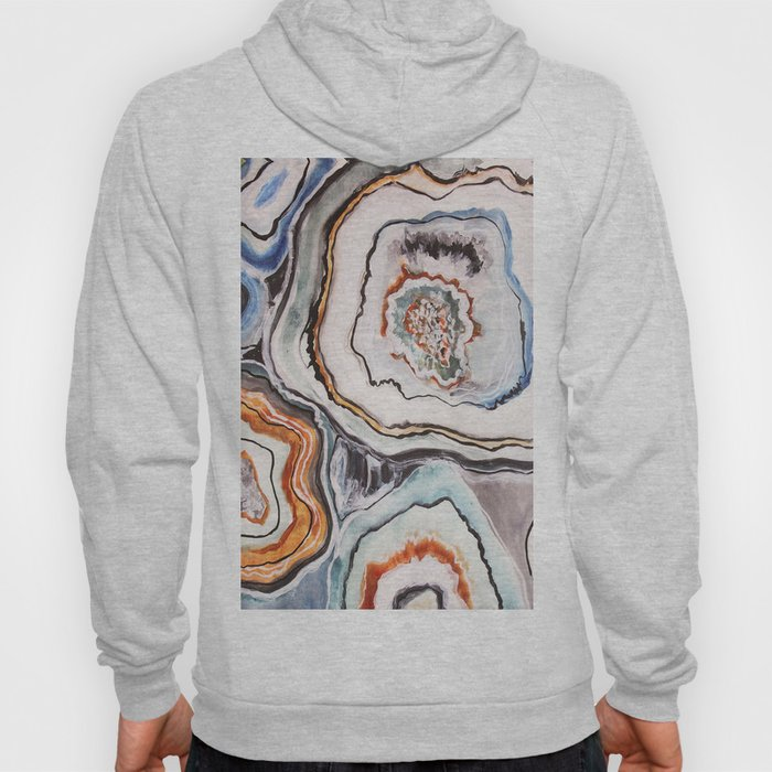 Geode Agate Stone - Nature Hoody