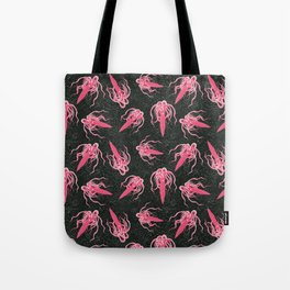 scary squid Tote Bag