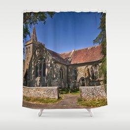 St Margaret of Antioch Isfield Shower Curtain