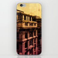brussels iPhone & iPod Skins featuring Brussels by Flying Kiwi