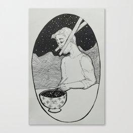 Interdimensional Chopsticks Canvas Print