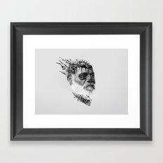 Strange Shapes Framed Art Print