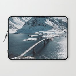 lofoten bridge Laptop Sleeve