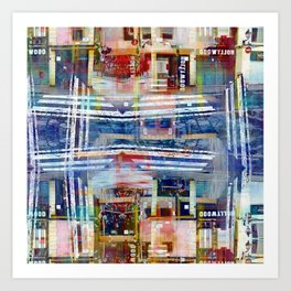 To sway by bulk voltage binges increments cultism. Art Print