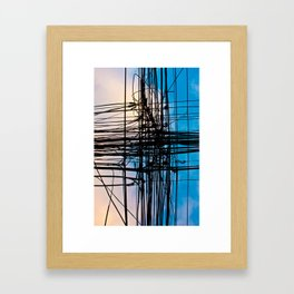 Alambres_01 Framed Art Print