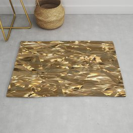 Golden Crinkle Rug