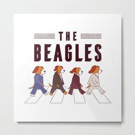 The Beagles Metal Print