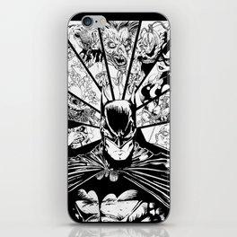 Caped Crusader & Friends iPhone Skin