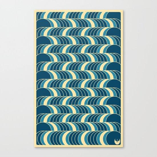 Barrels Pattern Canvas Print