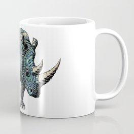 Rhinoceros (Color Version) Coffee Mug