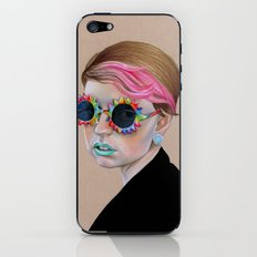 Pop Glasses iPhone & iPod Skin