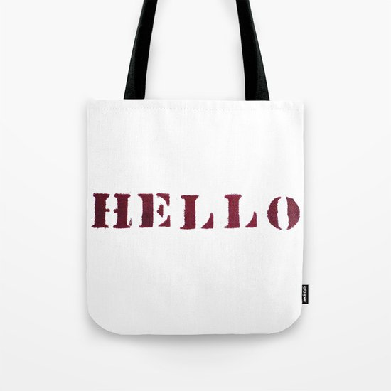 Hello You Tote Bag