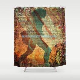 Illustration, graphic desing, art Shower Curtain