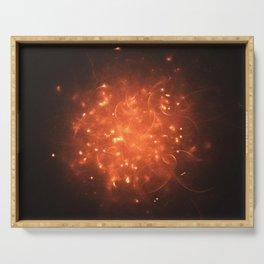 Stellar Fireball Serving Tray