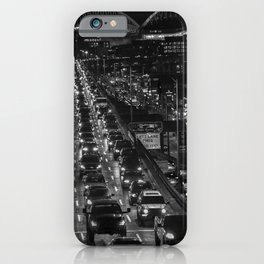 Seattle Viaduct Night Drive iPhone Case