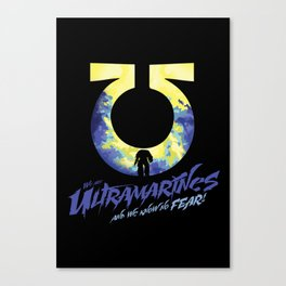 Ultramarines Canvas Print
