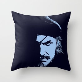 Big Boss (Snake / metal gear solid) Throw Pillow