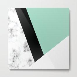 Marble III 011 Metal Print