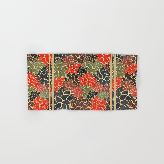 Floral Abstract 17 Hand & Bath Towel