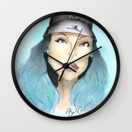 Kylie Jenner Realness  Wall Clock