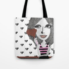 Forget LOVE... I'd rather fall in CHOCOLATE Tote Bag