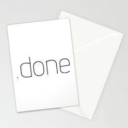 .done Stationery Cards