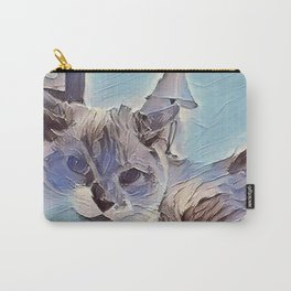 Glacier Cat. (Sugar Puss) Carry-All Pouch