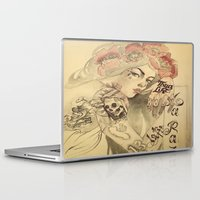 mucha Laptop & iPad Skins featuring mucha cholo by paolo de jesus