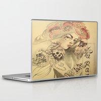 mucha Laptop & iPad Skins featuring mucha cholo by Paolo Zorzenon