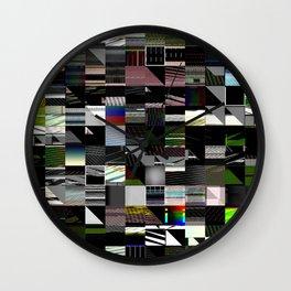 Abstract digitalism pt. I Wall Clock