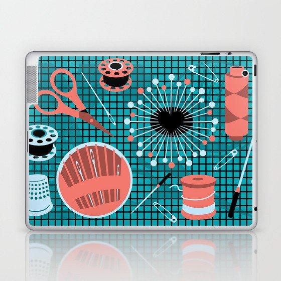 pins and needles Laptop & iPad Skin