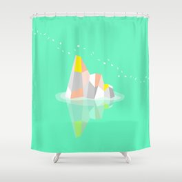 morning musings Shower Curtain