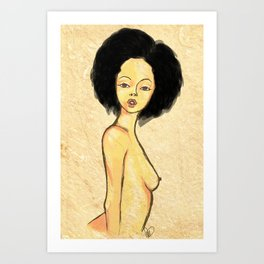 AfroIsBeauty Art Print